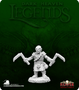 Dark Heaven Legends: Biff, Halfling Monk