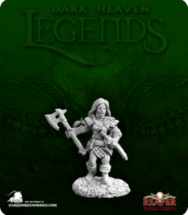 Dark Heaven Legends: Iris, Female Gnome