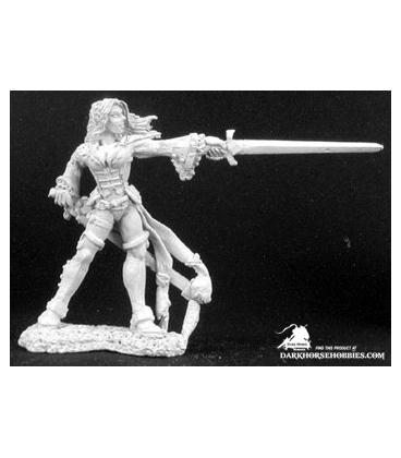 Dark Heaven Legends: Lonnia, Female Duelist