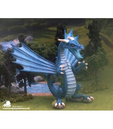 Dark Heaven Legends: Cavern Dragon (painted by Mike Raper)