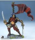 Dark Heaven Legends: Mika, Female Samurai (painted by Alison Bailey)