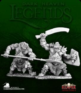 Dark Heaven Legends: Black Orc Marauder Pack