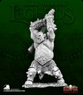 Dark Heaven Legends: Granak the Butcher, Black Orc Hero