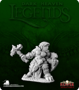 Dark Heaven Legends: Nalila Goldhammer, Dwarf