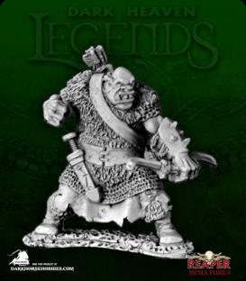 Dark Heaven Legends: Black Orc Archer