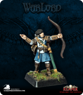 Warlord: Crusaders - Ivy Crown Archer II (painted by Anne Foerster)