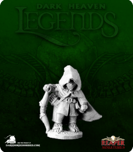 Dark Heaven Legends: Dicarus Darksword, Halfling Assassin