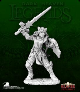 Dark Heaven Legends: Elise, Female (Argent) Knight