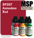 Master Series Paint: Pathfinder Colors - 89507 Asmodeus Red (1/2 oz)