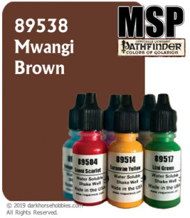 Master Series Paint: Pathfinder Colors - 89538 Mwangi Brown (1/2 oz)