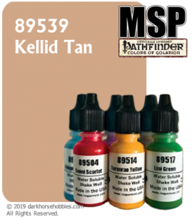 Master Series Paint: Pathfinder Colors - 89539 Kellid Tan (1/2 oz)