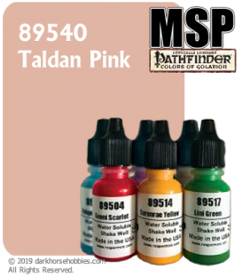 Master Series Paint: Pathfinder Colors - 89540 Taldan Pink (1/2 oz)