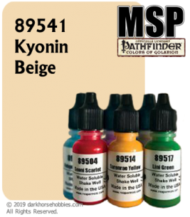 Master Series Paint: Pathfinder Colors - 89541 Kyonin Beige (1/2 oz)