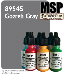 Master Series Paint: Pathfinder Colors - 89545 Gozreh Gray (1/2 oz)