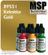 Master Series Paint: Pathfinder Colors - 89551 Keleshite Gold (1/2 oz)