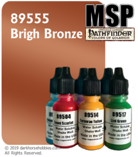 Master Series Paint: Pathfinder Colors - 89555 Brigh Bronze (1/2 oz)