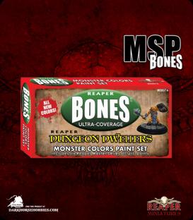 Master Series Paint: Bones Colors - Dungeon Dwellers Paint Set - Monster Colors