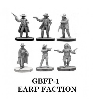Gunfighter's Ball: Earp Faction Boxed Set
