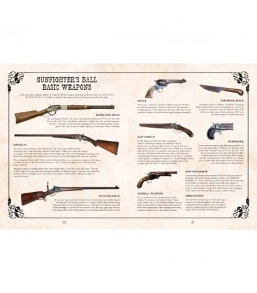 Gunfighter's Ball: Rulebook (hardbound, full color)
