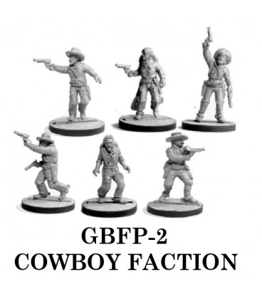 Gunfighter's Ball: Cowboy Faction Pack