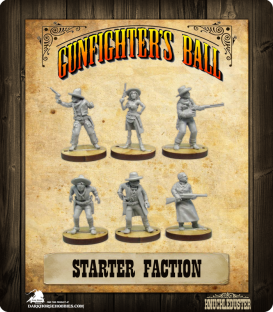 Gunfighter's Ball: Starter Faction Pack