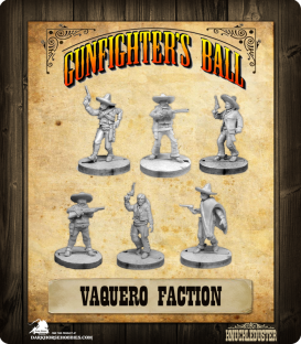 Gunfighter's Ball: Vaquero Faction Pack