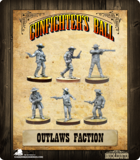 Gunfighter's Ball: Outlaws Faction Pack