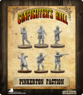 Gunfighter's Ball: Pinkerton Faction Pack