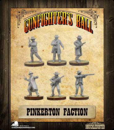 Gunfighter's Ball: Pinkerton Faction Pack