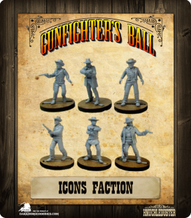 Gunfighter's Ball: Icons Faction Pack