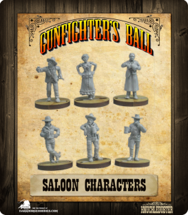 Gunfighter's Ball: Saloon Characters Faction Pack