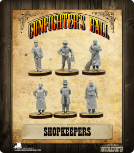 Gunfighter's Ball: Shopkeepers Faction Pack