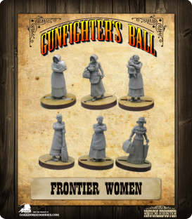 Gunfighter's Ball: Frontier Women Faction Pack