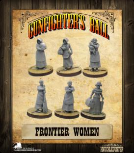 Gunfighter's Ball: Frontier Women Faction Pack