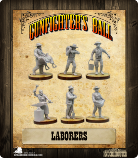 Gunfighter's Ball: Laborers Faction Pack