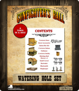 Gunfighter's Ball: Watering Hole Boxed Set