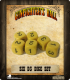 Gunfighter's Ball: 6-sided D3's x 6 Dice Set