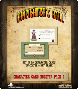 Gunfighter's Ball: Character Cards Booster Pack 1