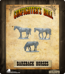 Gunfighter's Ball: Bareback Horses Pack