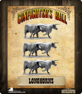 Gunfighter's Ball: Longhorns Pack