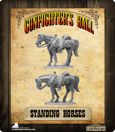 Gunfighter's Ball: Standing Horses Pack