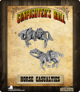 Gunfighter's Ball: Horse Casualties Pack