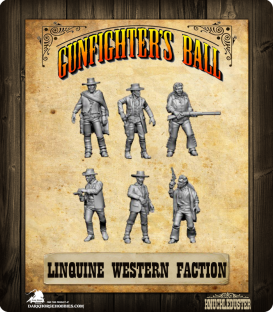 Gunfighter's Ball: Linguine Western Faction Pack