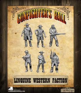 Gunfighter's Ball: Linguine Western Faction Pack