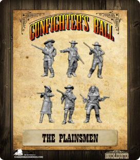 Gunfighter's Ball: The Plainsmen Faction Pack