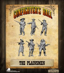 Gunfighter's Ball: The Plainsmen Faction Pack