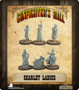 Gunfighter's Ball: Scarlet Ladies Faction Pack