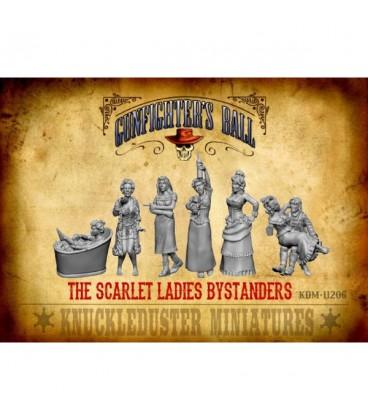 Gunfighter's Ball: Scarlet Ladies Faction Pack