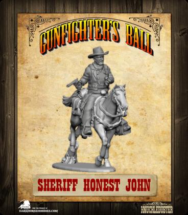 Gunfighter's Ball: Honest John Mounted Figure