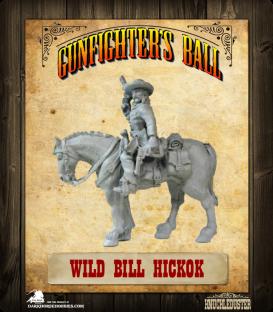 Gunfighter's Ball: Wild Bill Hickok Mounted Figure